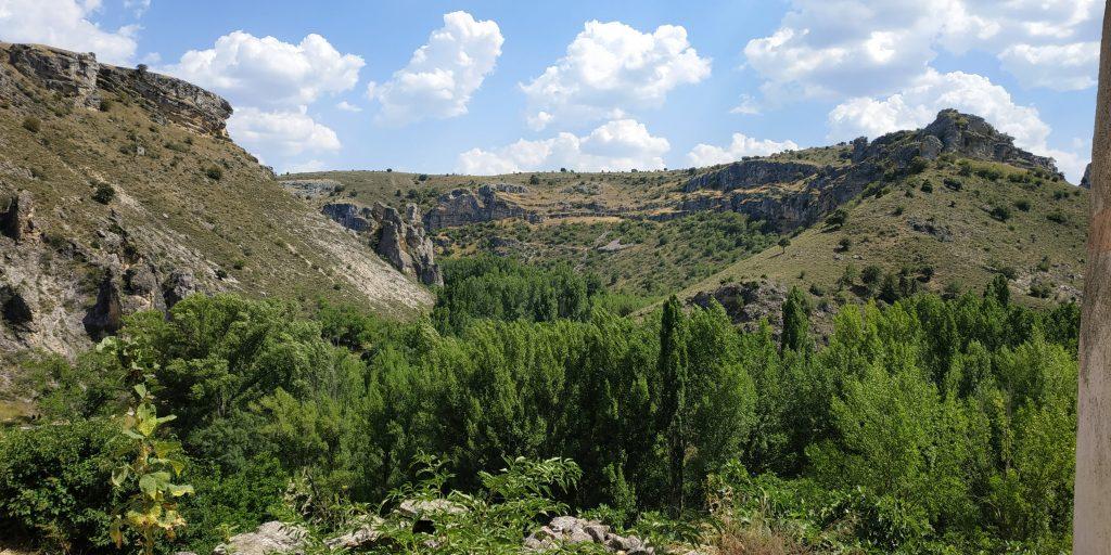 Vista General del Barranco del río Dulce